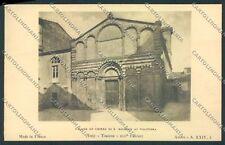 Pisa Volterra cartolina D9180 SZI