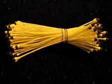 Millinery Flower Stamen Black Yellow for Hat Ribbon Embellish Wedding Hair EB22