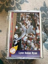 1991 MLB Pacific Nolan Ryan Complete 110 Trading Card Set * MINT *Texas Express