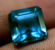 8.45 Ct Natural Grandidierite Bluish Green GGL Certified Rare Emerald Cut Gem