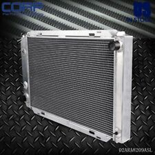Full Transmission Aluminum Radiator For 1979-1993 80 81 82 83 FORD MUSTANG MT&AT