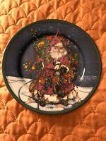 Royal Norfolk Noel Christmas Santa Claus St.Nicholas Plates ON SALE