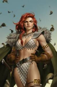 RED SONJA THE SUPERPOWERS #4 YOON VIRGIN VARIANT DYNAMITE 2021 EB114