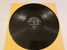 Bill Haley And His Comets  Rock A Beatin  Boogie / Burn That Candle  78 RPM