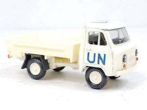UAZ 452 Pickup Truck UN MISSION 1:43 Scale  Die Cast Model Car Russian ? EX COND