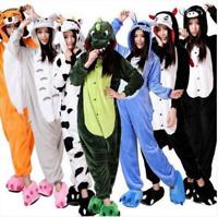 Kids Adults Animal Kigurumi Pajamas Cosplay Sleepwear Costumes Unisex Jumpsuit