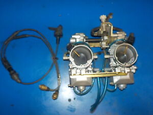 YAMAHA V-MAX 500 1995-96 CARBURATORS(DIAL A JETS)/ CHOKE CABLE , CLEAN USED