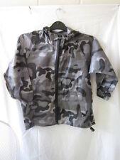 Vêtements gris avec capuche en polyester pour fille de 2 à 16 ans