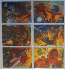 "1994 Fleer Ultra X-Men Limited Edition ""Team Portrait""  6 cards"