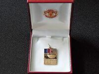 MANCHESTER UNITED 1968 EUROPEAN CUP WINNERS MEDAL - C/W BOX & CREST