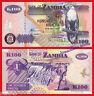 ZAMBIA  100 Kwacha 2006  Pick 38f  SC / UNC