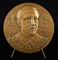 Medal Eugene Ducretet Industrial Finder Electromagnetism Tsf Radio Medal