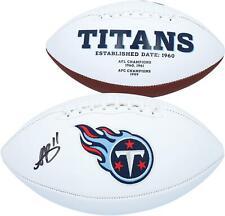 A.j. Marrom Tennessee Titans Autografada Branco Painel Futebol