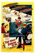 THE 5000 FINGERS OF DR. T Movie Promo POSTER Peter Lind Hayes Mary Healy