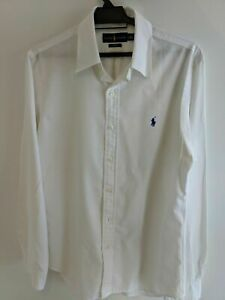 Ralph Lauren Men's Oxford Classic Fit Shirt Size M - White