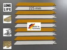 Säbelsägeblatt Sägeblatt 10 Stück für Stahl Holz mit Metallrückständen