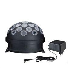 TIP Discoteca LED Luz GLOBO BOLA multicolor negro MOTOR 4w RGB E14 230v