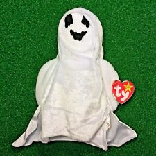 Original Ty Beanie Baby Sheets The Ghost 1999 Halloween Special MWNMT Ships FREE