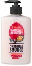 5x Original Source Creamy Vanilla & Raspberry Handwash 300ml