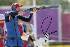 Peter Wilson Firmada A Mano Gran Bretaña Londres 2012 Olimpiadas 6x4 Foto.