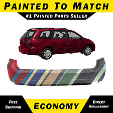 NEW Painted To Match - Rear Bumper Cover for 2004-2010 Toyota Sienna 52159AE900
