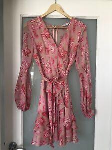 pilgrim dress 6 - Long Sleeve Floral Mini Dress