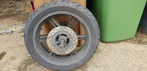 2004-2007 Honda CBF600 Rear Wheel Tyre, Disc & Sprocket + Spindle