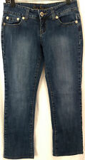 Guess Jeans Womens 28 Waist Size 6 Denim Stretch Blue Boot Cut Low Rise Med Wash