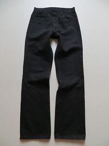 Levi's STA PREST 566 Jeans Hose W 32 /L 34, schwarz ! Rockabilly Denim RARITÄT !