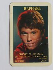 CALENDARIO RAPHAEL. AÑO 1967.(Imprenta Hauser y Menet) (Ver descripción estado)