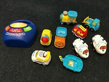 USED Car Talking Toys - Boys LOT - 10 pieces