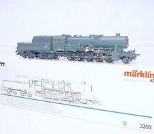 Marklin HO AC Deutsche Reichsbahn DR BR-52 WWII WAR STEAM LOCOMOTIVE MIB RARE!