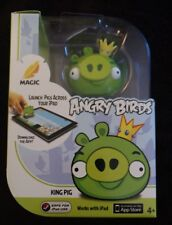 NIB MAGIC ANGRY BIRDS KING PIG FIGURE FOR USE WITH iPad Download Free App Mattel