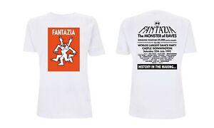 Fantazia Castle Donnington Early 90s rave t shirt Sunrise Flyer Biology NYE Tee