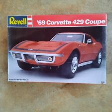 Nos Revell 69 Corvette 429 Coupe Factory Sealed 1/25 W/Orig Price Tag #7149