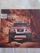 Nissan xterra gamme brochure 2012 marché canadien