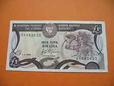 ZYPERN (CYPRUS). BEINAHE UNC £1 POUND (1-2-1992)