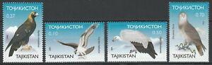 Tajikistan 2000 Birds of prey 4 MNH stamps