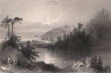 NEW BRUNSWICK. 'Lily Lake', Rockwood Park, St John. Canada. BARTLETT 1842