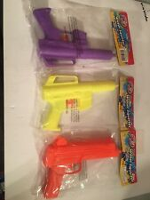 Vintage Water Squirt Gun Lot Of 3 Made In China
