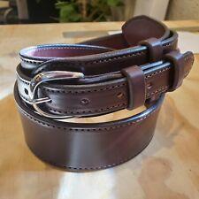 Ranger Belt, Great Gun Belt, 2 inch wide. Dark Brown