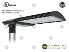 LED Shoebox/ Pole Light Parking Lot Light, Area Light Car Lot, 320 Watt 120-277