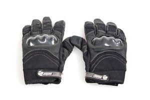 SECTOR 9 The Boxer L/XL Technical Slide Glove Black w/ plastic sliders knuckles