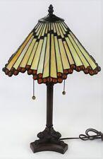 Contemporary American Slag Glass Lamp Lot 304