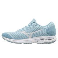 Mizuno WAVEKNIT R2 Women's Running Shoes Blue Walking Gym Outdoor J1GD182927