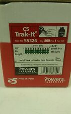 "POWERS FASTENERS C5 TRAK-IT 1-1/2"" PIN 55326"
