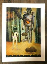 GLENN BARR Gypsy and the Creeping Betrayal Giclee Print LE S/N Pin-Up Monster