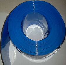 "135mm (5.31"") PVC Heat Shrink Wrap For Battery Packs  10 foot roll - US Seller"