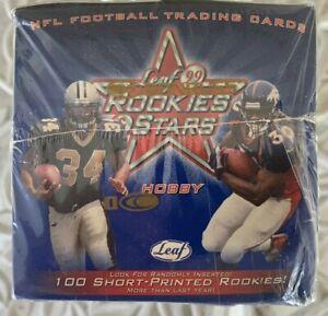 1999 DONRUSS LEAF ROOKIES & STARS HOBBY BOX FACTORY SEALED