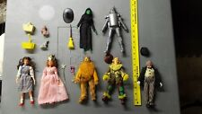 Seven Vintage Mego Wizard of Oz Action Figures with Accessories Free US Shipping